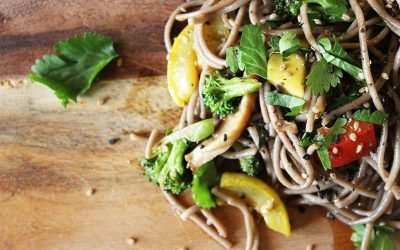 Buckwheat Soba Vegetable Salad