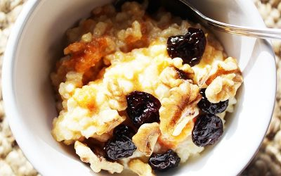 Earl Grey Buckwheat & Quinoa Porridge
