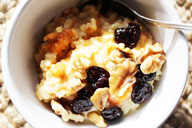 Earl Grey Buckwheat & Quinoa Porridge